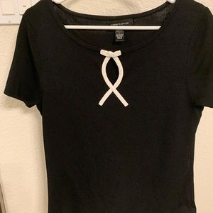 Women's Top Large cable and gauge EUC